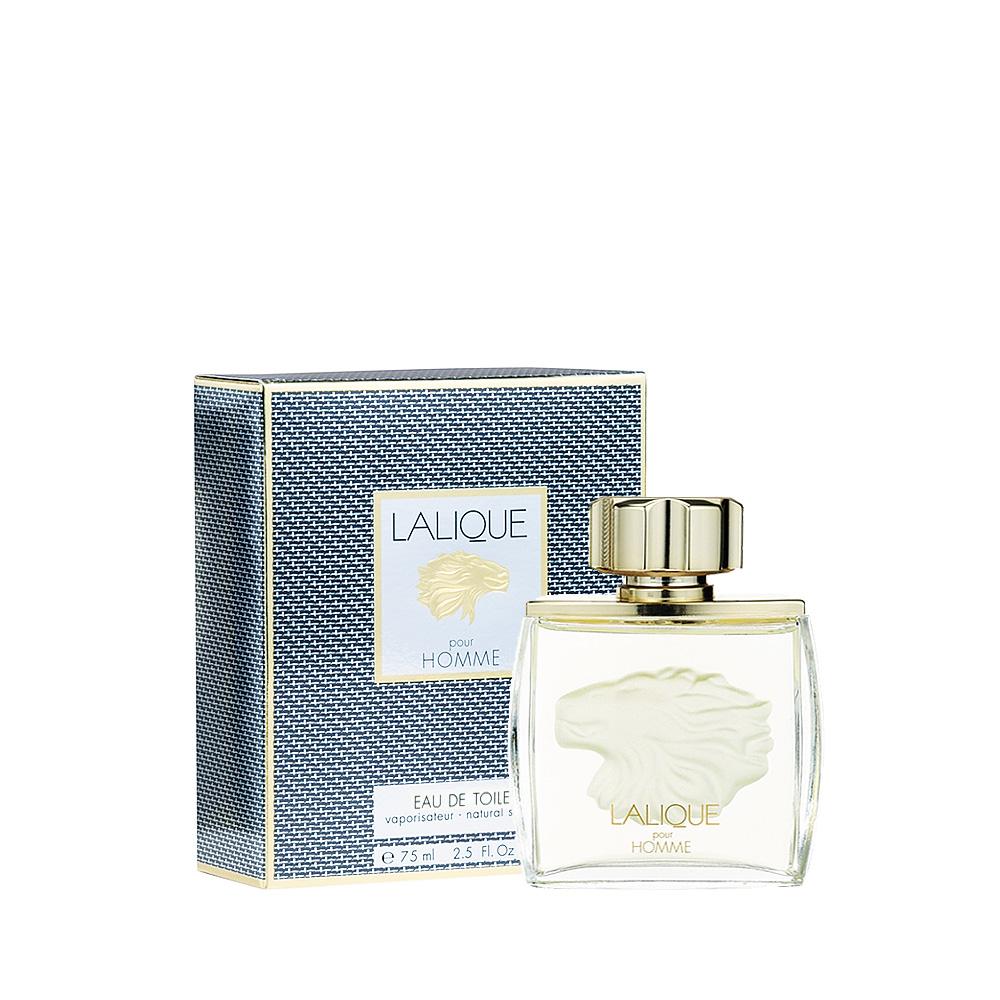 LALIQUE POUR HOMME LION Eau de Toilette | 75 ml (2.5 Fl. Oz.) Natural Spray | Lalique Parfums