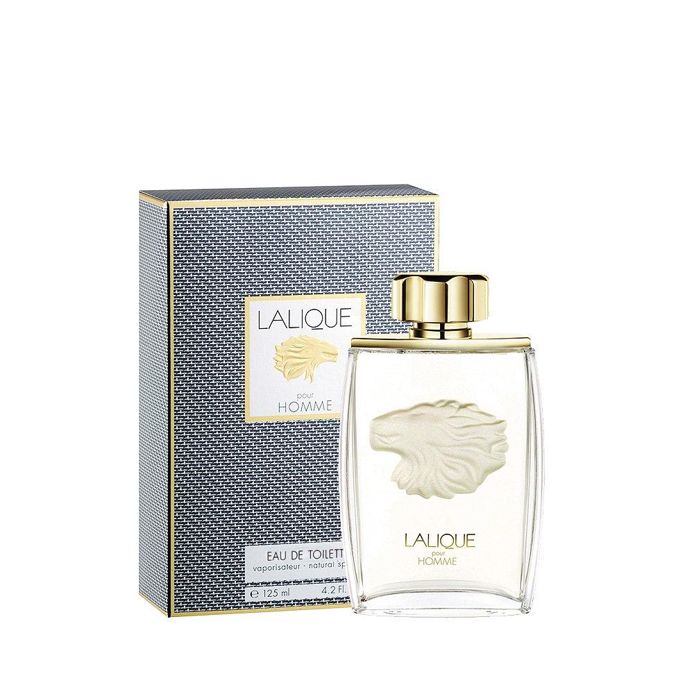 LALIQUE POUR HOMME LION Eau de Toilette   125 ml (4.2 Fl. Oz.) Natural Spray    Lalique Parfums