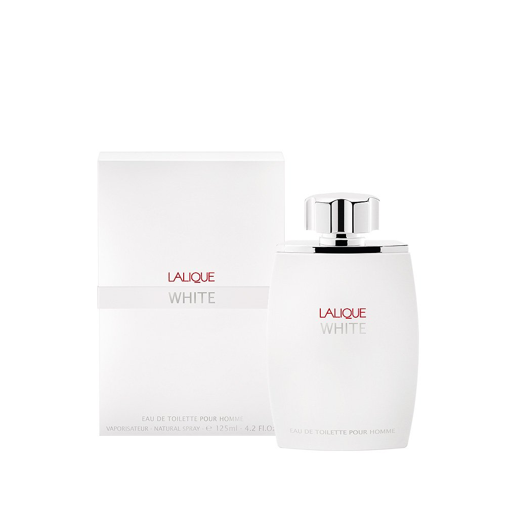 LALIQUE WHITE Eau de Toilette | 125 ml (4.2 Fl. Oz.) Natural Spray  | Lalique Parfums