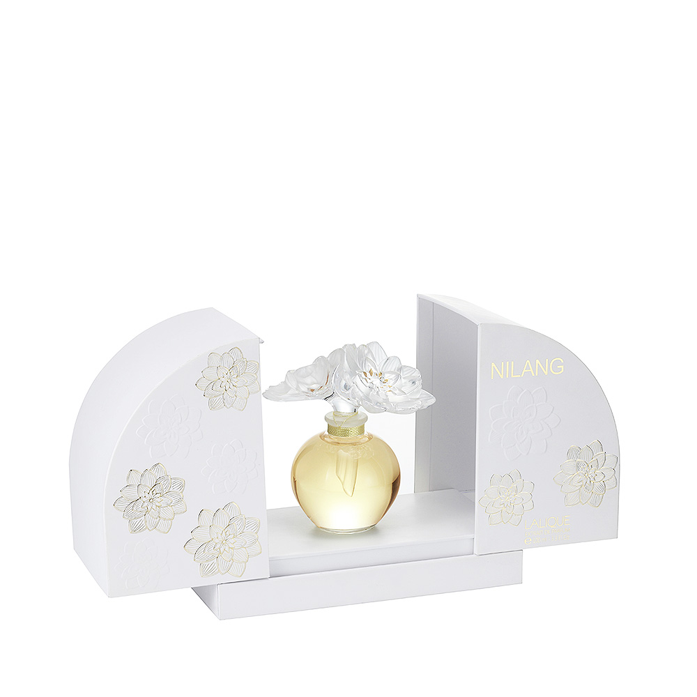 NILANG Crystal Flacon   Extrait de parfum, 100 ml   Lalique Parfums
