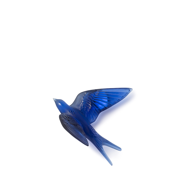 Swallow wings up wall sculpture