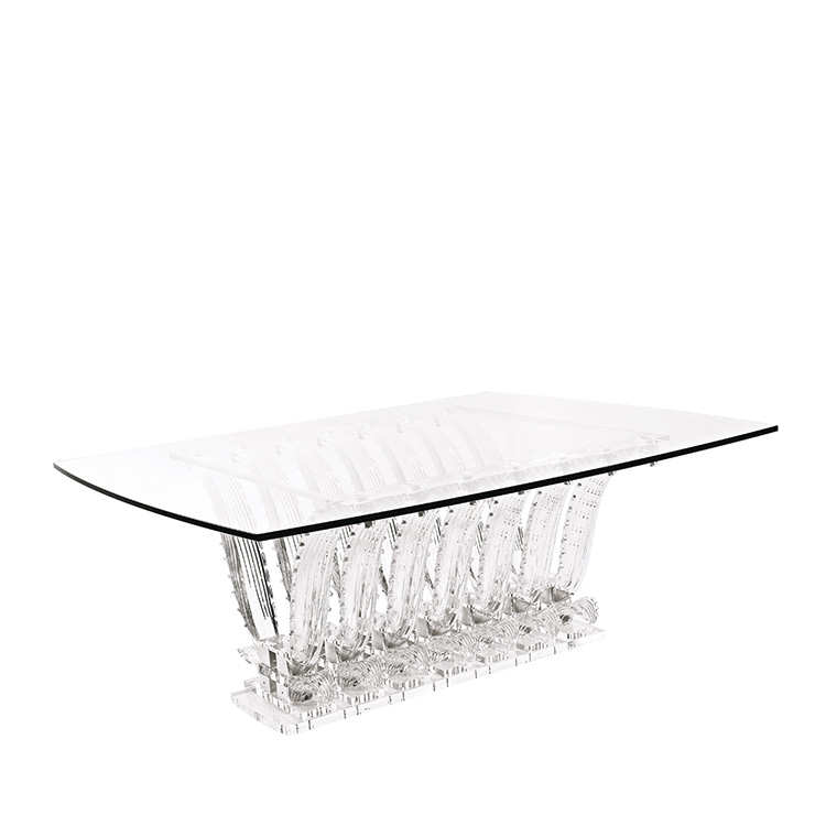 Crystal Edition Z Side Table- Fashionista Cafe