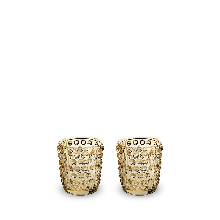 Set of 2 Mossi votives