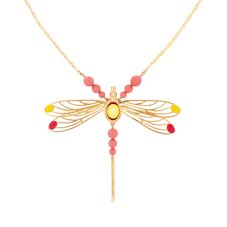 Libellule necklace