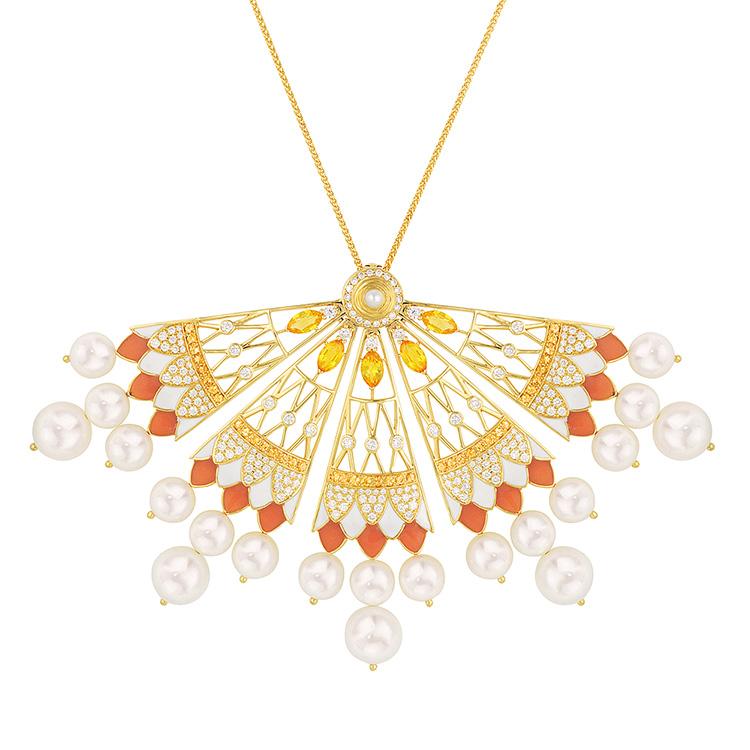 Soleil de Gaïa necklace