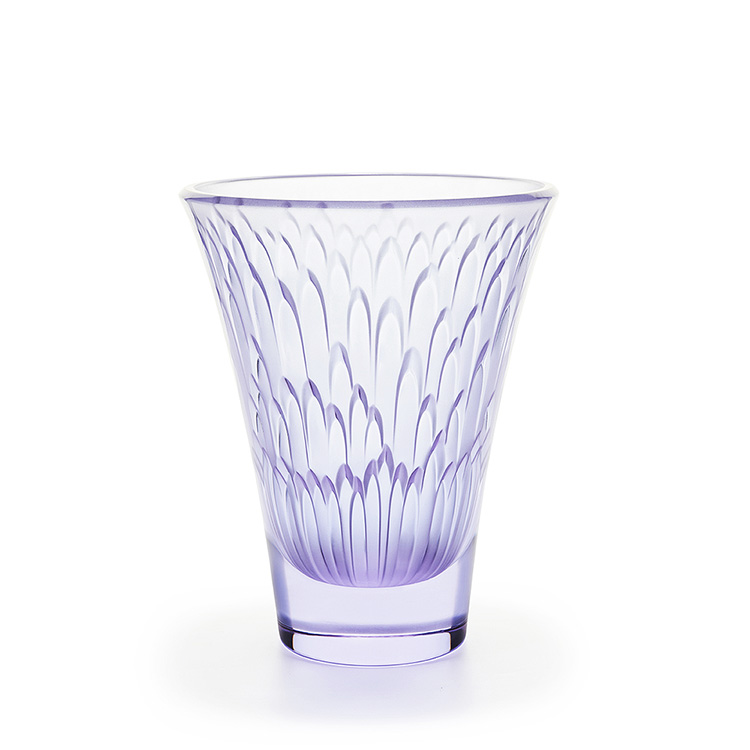 Tanega vase limited edition 488 pieces clear and for Lalique vase