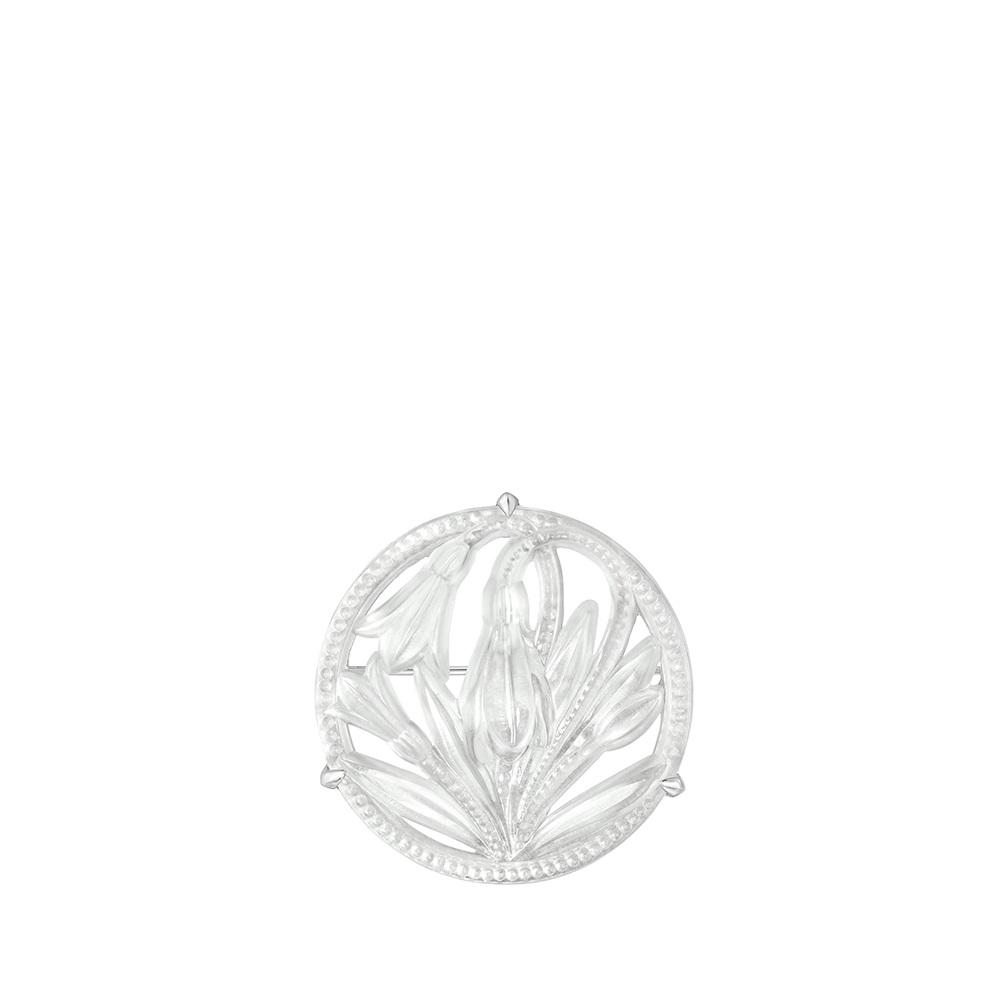 Fleur De Neige brooch