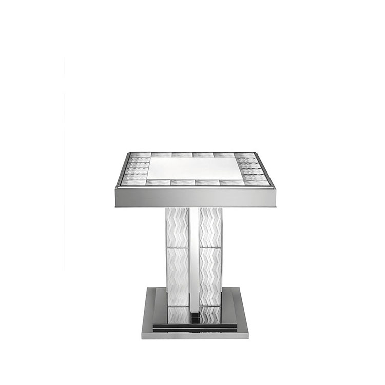 Soudan Pedestal Table by Pierre-Yves Rochon