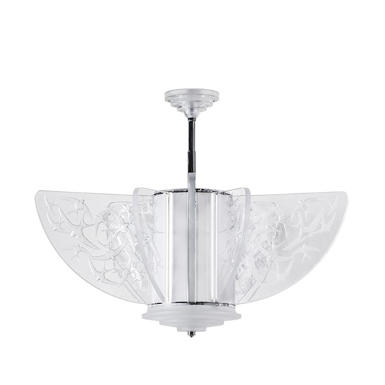 Hirondelles chandelier