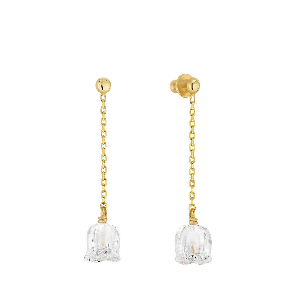 MUGUET LONG EARRINGS