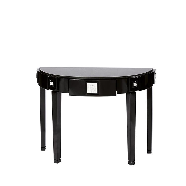 cactus console table half moon console talbe clear crystal interior design lalique lalique. Black Bedroom Furniture Sets. Home Design Ideas