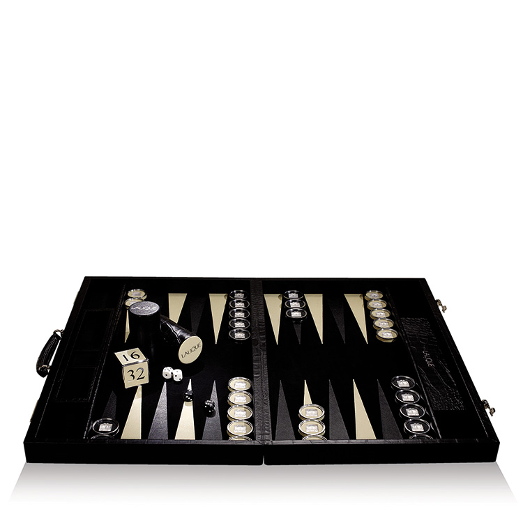 Masque de Femme backgammon