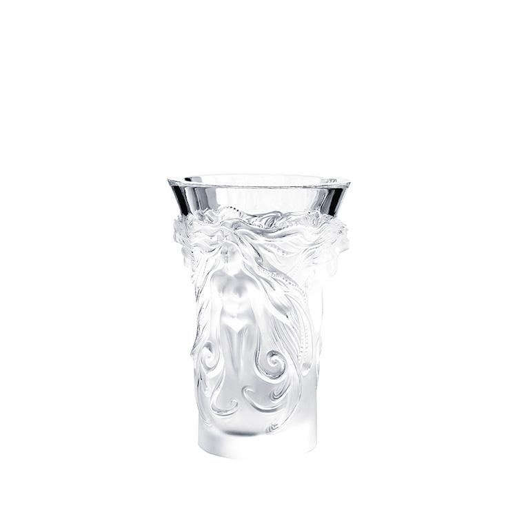 Elisabeth Vase Clear Crystal Vase Lalique Lalique