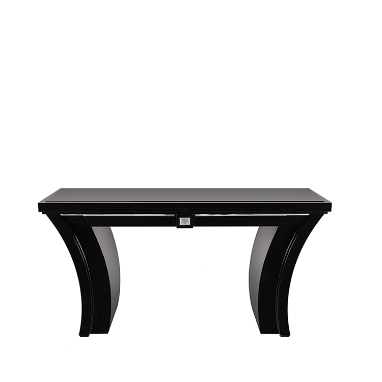 Raisins curved console table