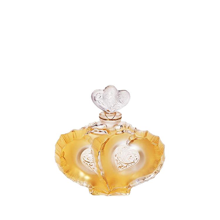 """Collectible Crystal Flacon """"Deux Coeurs"""""""
