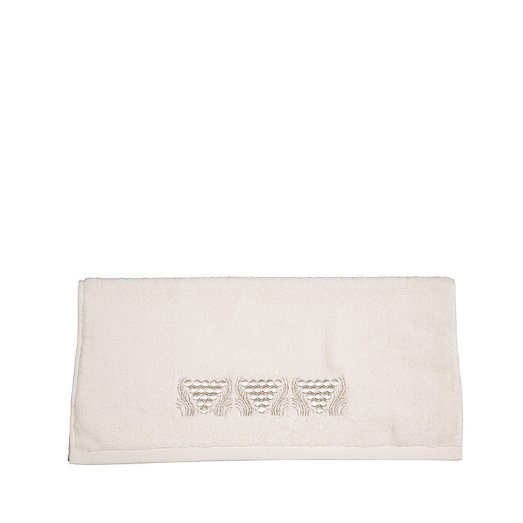 Raisins embroidered hands towel
