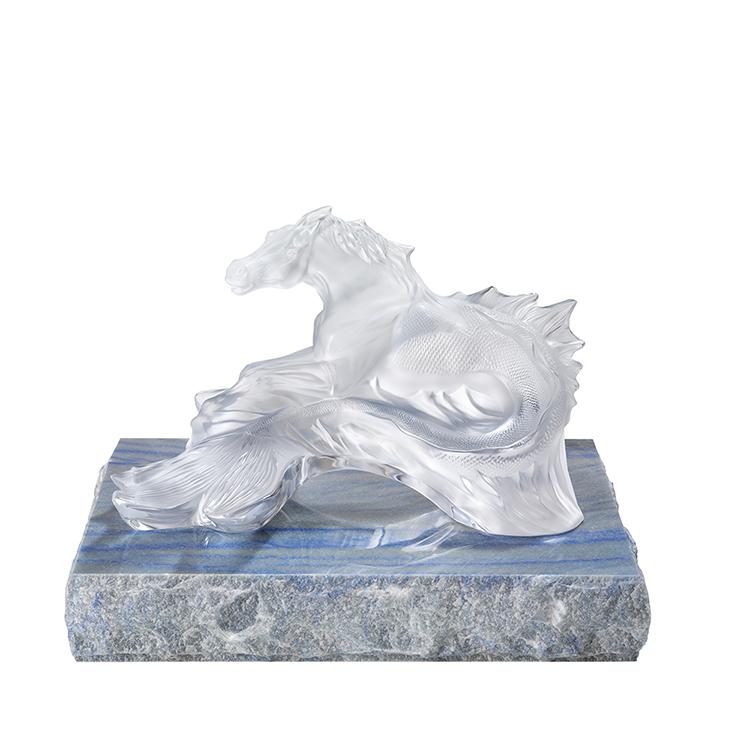 Poseidon's Horse sculpture