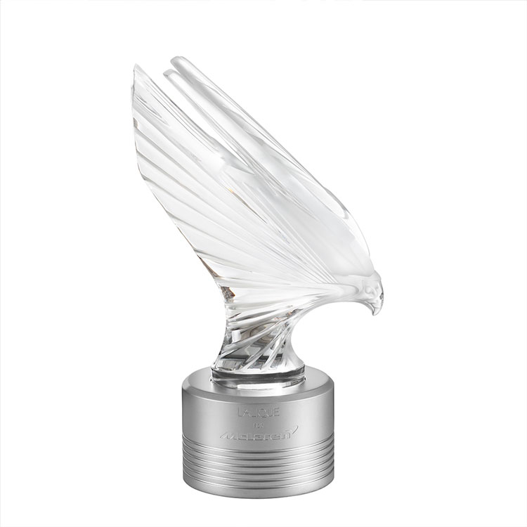 McLaren Falcon sculpture