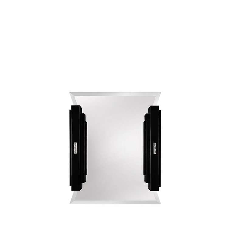 Raisins curved make-up mirror
